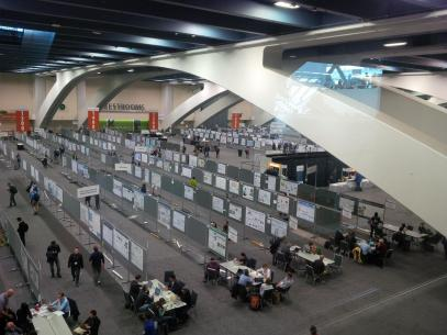 View at the poster Hall