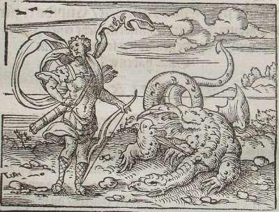 Apollo killing Python